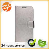 Luxury bling bling silver magnetic wallet leather case for Samsung galaxy s4, phone case for Samsung s4 i9050