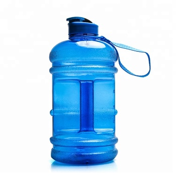 Amazon Hot Selling sports fitness branded 2.2L petg water bottle
