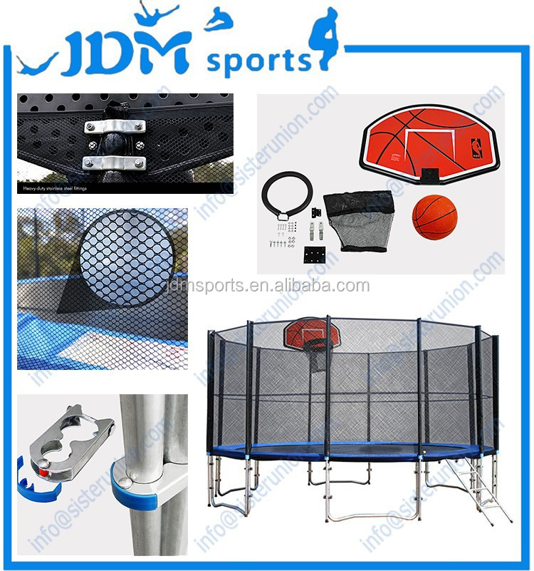 hei er verkauf trampolin mit basketballkorb spiel f r. Black Bedroom Furniture Sets. Home Design Ideas