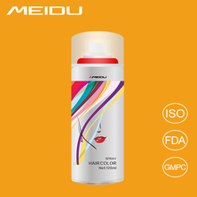 China Professional OEM Manufacturer Wholesale Magic Party Instant Coloring Temporary Washable Hair Color Spray