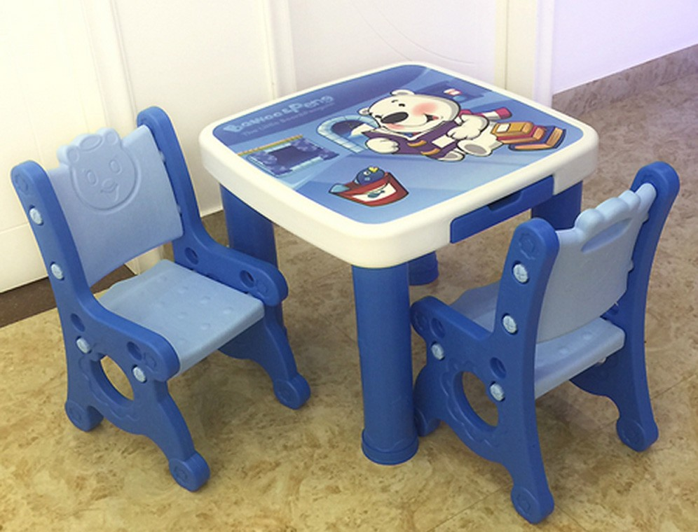 kindergarten popular high quality cheap kids reading table and chair study usage furniture