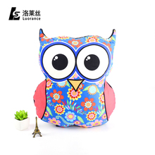 Good price free sample cartoon decorative baby cute animal shaped cushion bed