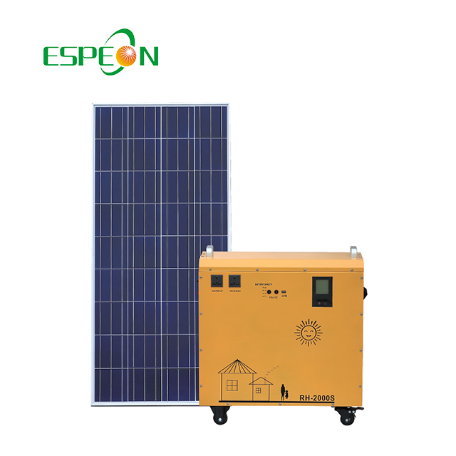 600W/700W small solar portable solar for home solar power backup home generator