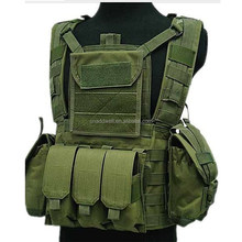 Outdoor combat military airsoft tactical vest