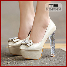 S4129 Women Shoes 2013 latest korean wedding shoes high heels rhinestone noble dress shoes sexy ladies pumps