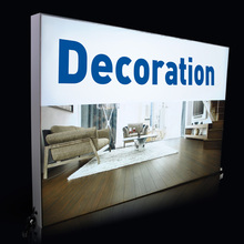 Advertising Led Large Format Custom Made Light Box Factory