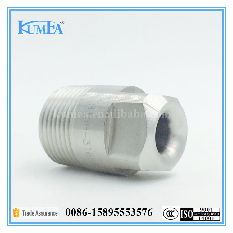 High efficiency washing water spray nozzle