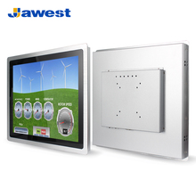 "Jawest Intel J1900 Quad-core 2.0Ghz all-in-one touch screen 12"" 15"" 17"" 19 inch industrial rugged fanless PC"