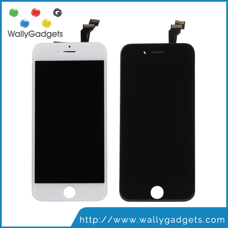 1 Year warranty Cold glue pressed High quality AAA Lcd screen digitizer assembly lcd for iphone 6 lcd digitizer phone repair