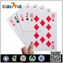 Playing paper card 2015 hot sale