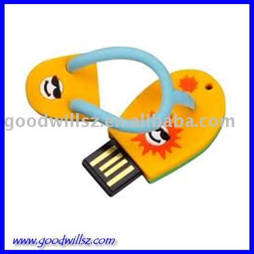 Gift Beach Sandals USB Flash Drive