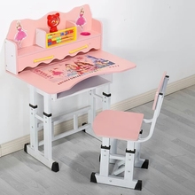 DT-A Cheap wooden children desk and chairs designs student study table and chair set school furniture cheap school desk and chai