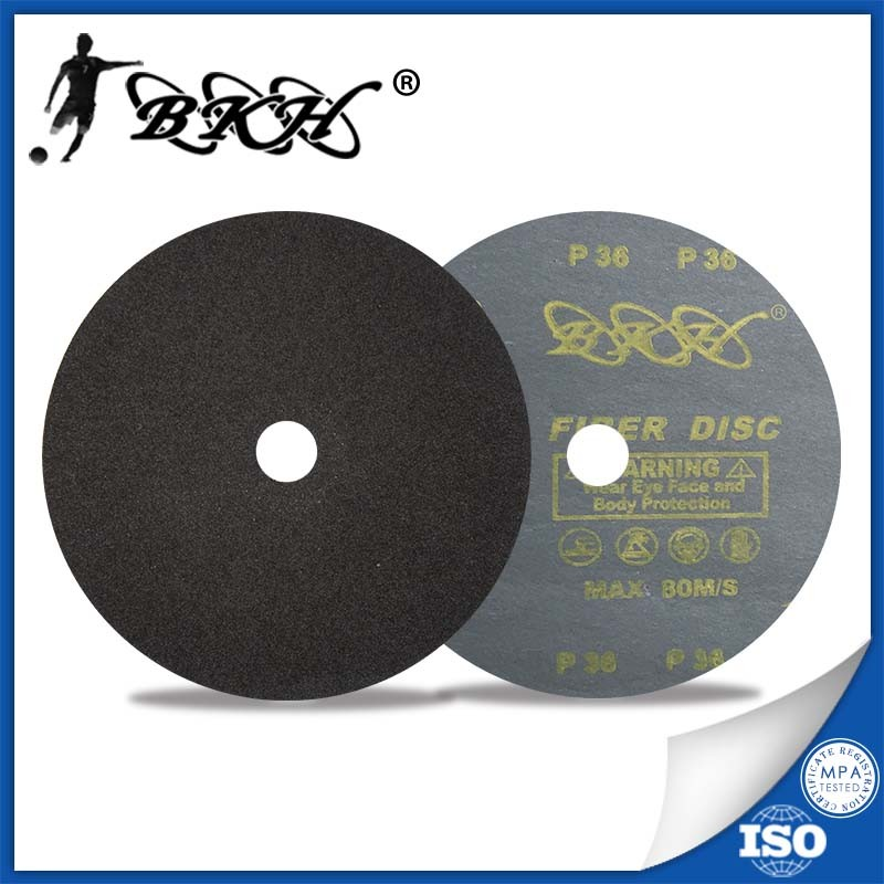 Silicon carbide fiber disc metal sanding discs granite sanding discs glass sanding disc4inch