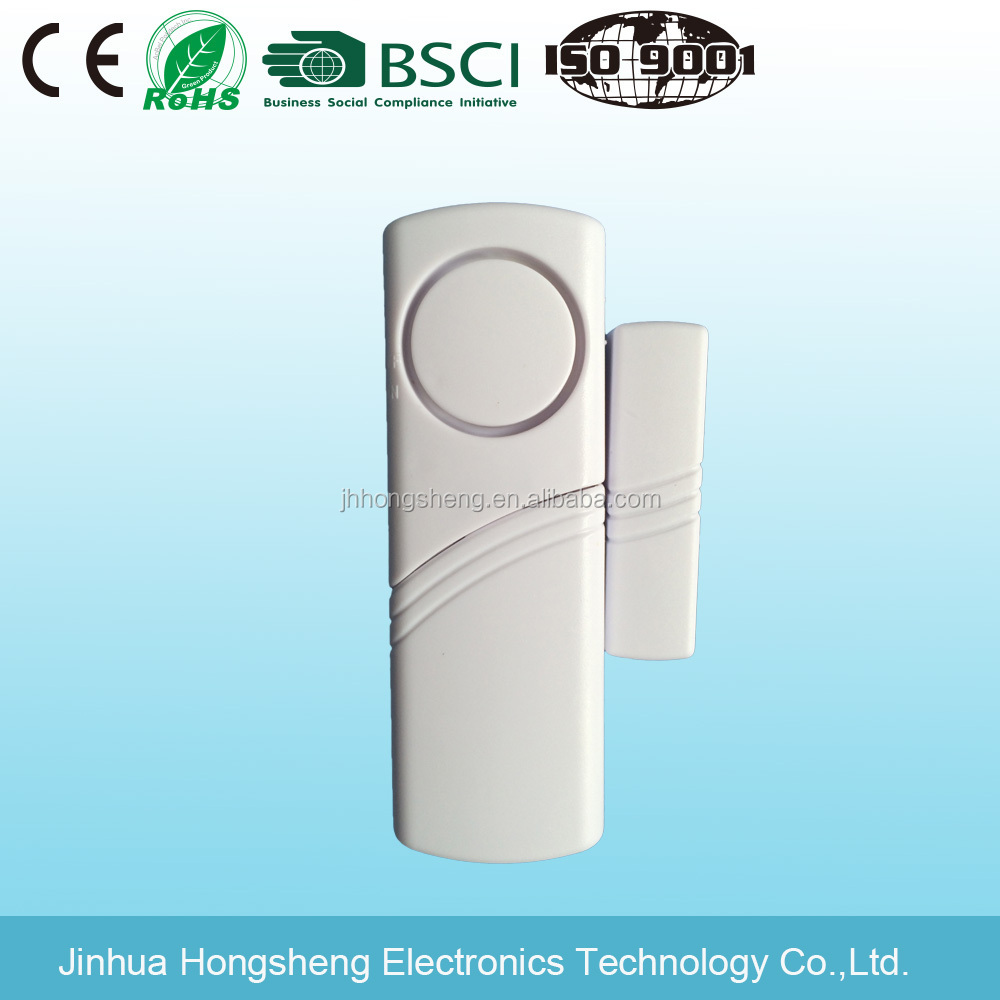 Mini wireless door and window magnetic/ wireless door remote sensor alarm