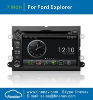 Android OS 7Inch Touch Screen Car GPS Navigation For Ford Explorer Fusion Edge Expedition Mustang Escape With Radio BT TV Ipod