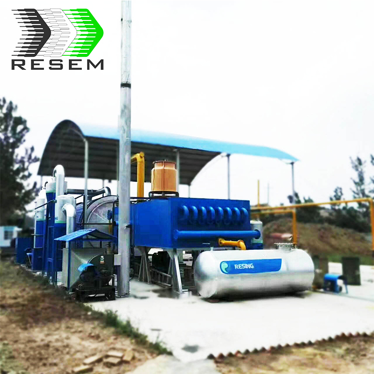 The integrated design manufacture durable used oil recycling plant