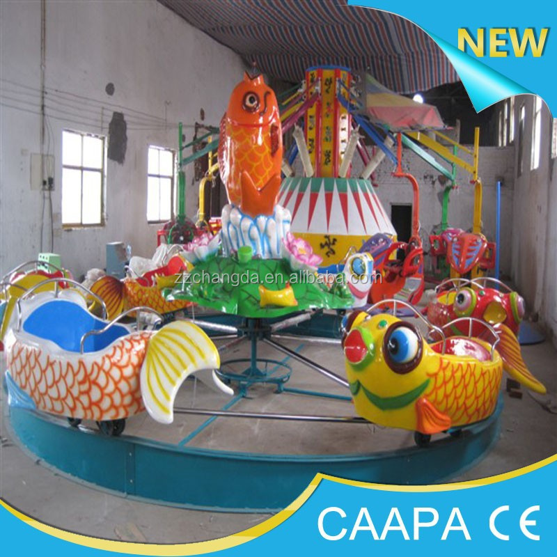 Amusement Park carps/Carps Jumping over the Dragon Gate rides for kids play carp online game