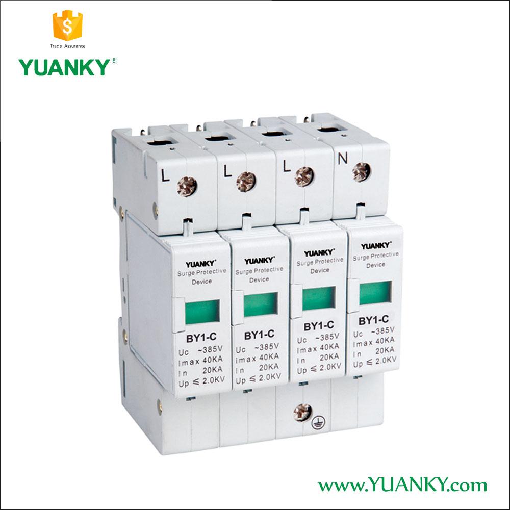 Wholesale Surge Protection Devices Online Buy Best Circuit Breaker Protector220v Mini Spd 40ka Lightning Arrester Strongsurge Strong