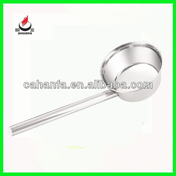 Water Ladle, Stainless Steel Water Scoop,Disposable Scoop