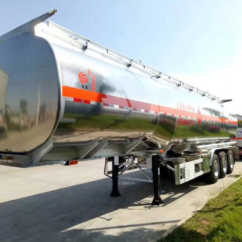 for sale flammable liquid aluminum alloy tanker semi-trailer