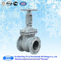 Class A oil and gas stem gate valve made in china factory for russian