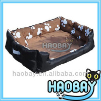 Paw print pet dog cat bed manufacturer wholesale