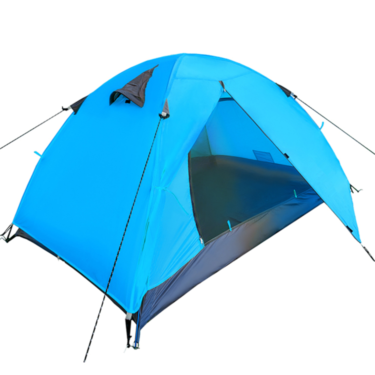 Wholesale Blue double layers lovers lightweight beach tent for sun shade shelter dome Beach Tent