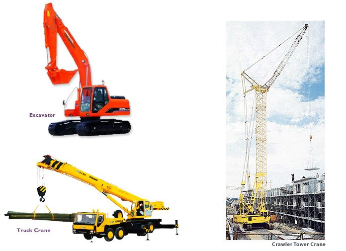 used crawler tower crane