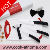 "Advanced Ceramic Revolution 3 pieces types ceramic kitchen knife set includes 3"" 4"" 6"" knives"