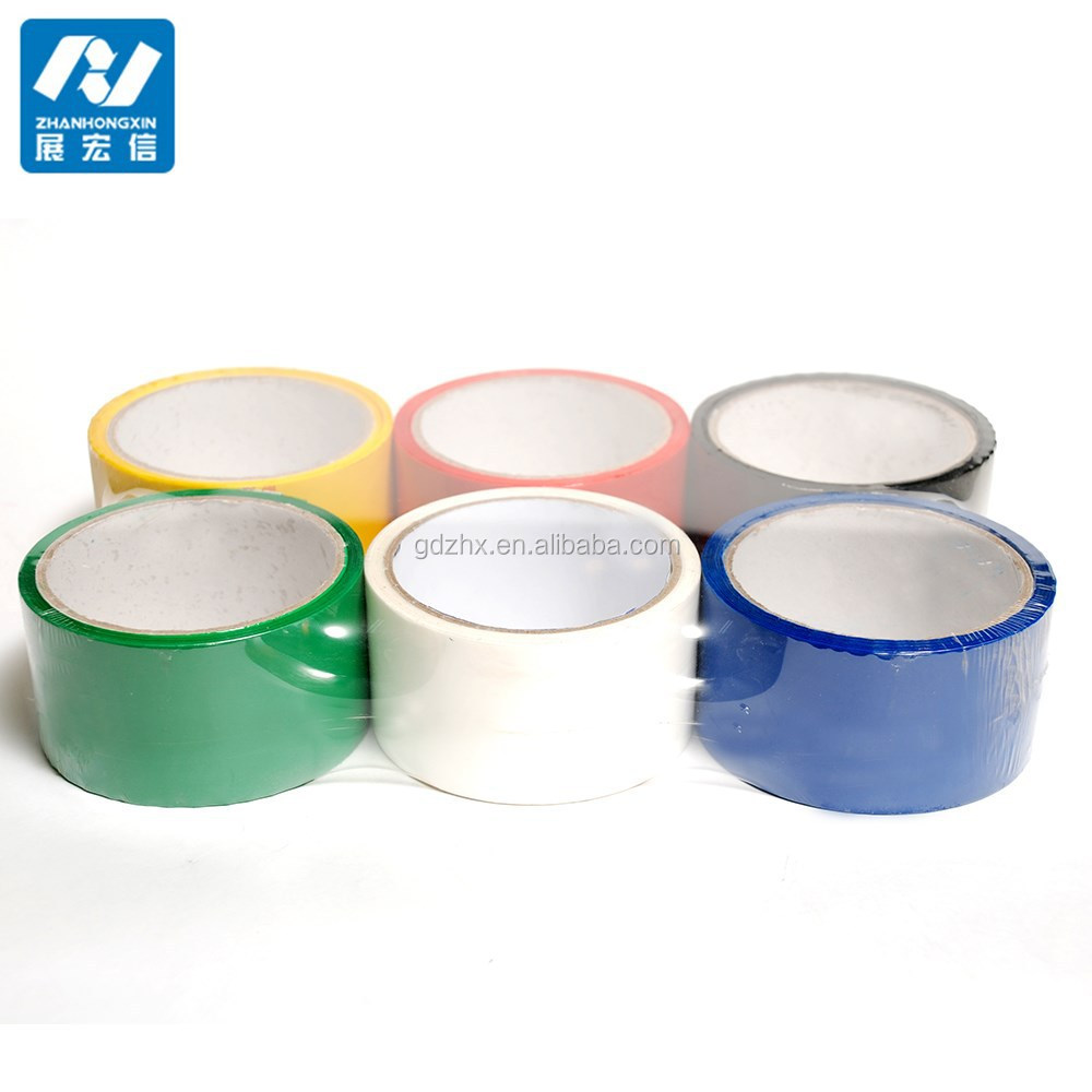 custom promotional printing crystal bopp security strapping tape