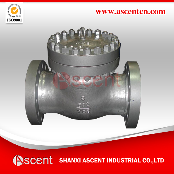 Swing Check Valve ASTM A216- Grade WCB Class 150, ANSI B16.34 and API 600