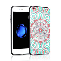 2017 Newest design hot selling mobile phone accessories Printing 3D TPU PC Mobile Phone Case for iphone 7