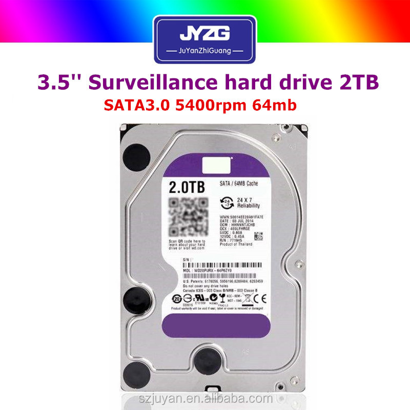 2000gb Hard Disk Prices Hong Kong Sata 5400rpm Surveillance Used