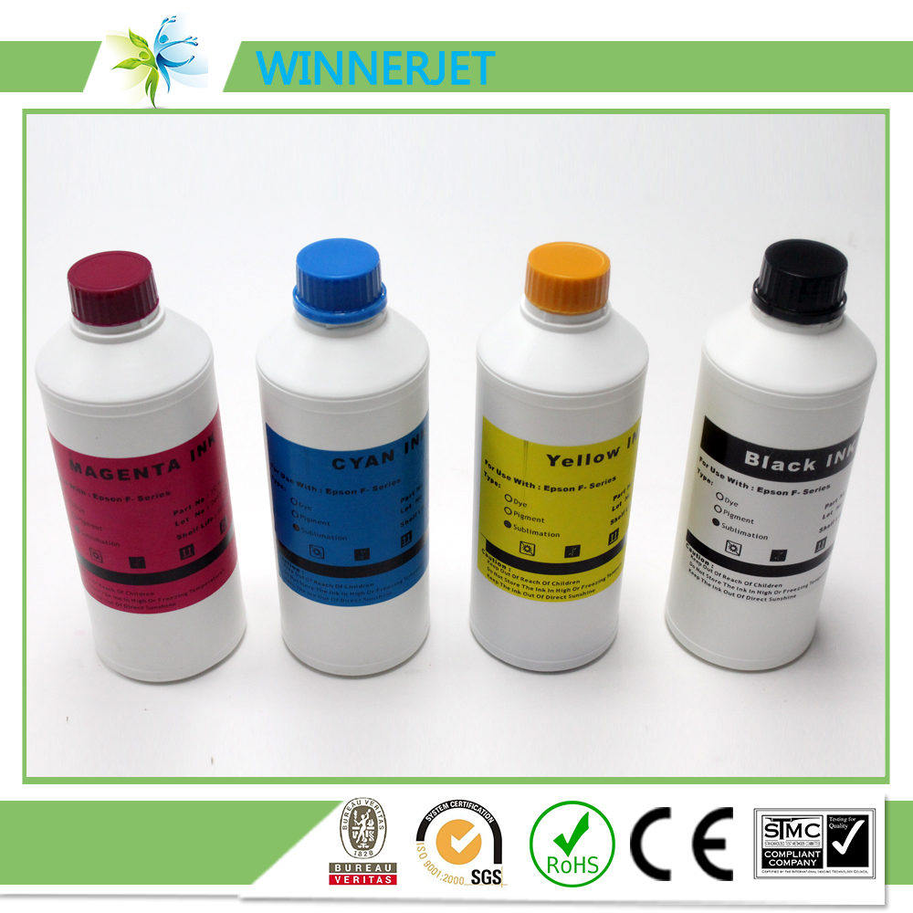 4 Color Heat Transfer Sublimation Ink For Epson Sure Color series printhead