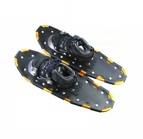 "Winter Outdoor Sports Non Slip Aluminium Frame Ski Snowshoes with shoe bag 22"",26"""