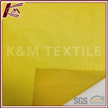 Outdoor Material 100% N Paper Like Coating Twill Waterproof Fabric Nylon