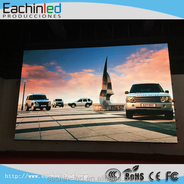 P3 LED video wall panel , HD LED display P3.9 indoor LED screen