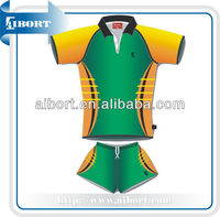 SUB-1 100 polyester sublimation tennis jersey