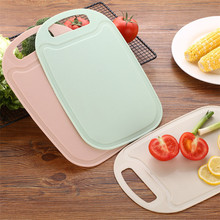Home kitchen use healthy cutting leakage-proof PP chopping board