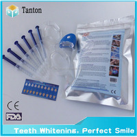Whitening teeth home Home cosmetic teeth whitening system/kit