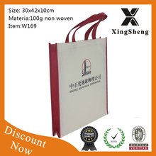 Promotion Recyclable Silk Printing Nnon Woven Fabric Bag