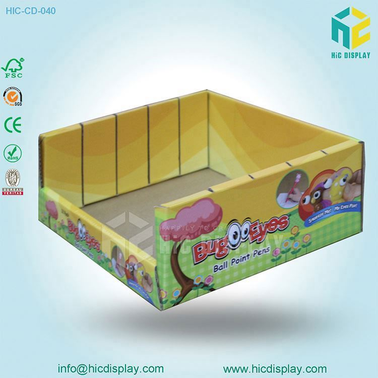 paper display rack for stationery,cardboard stationery display rack