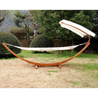 Buy Top Quality Double Wooden Hammock Stand for Sale in China on ...