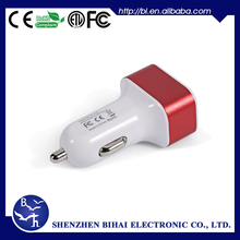 Guarantee Periods 720Days USB Output 5V 1A dual usb car charger