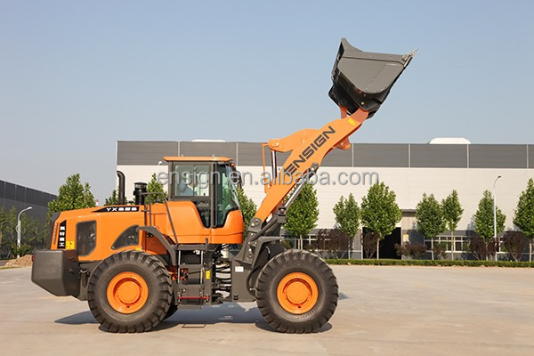 ENSIGN 5 Ton Earthmoving Front Mini Wheel Loader With Weichai Engine, CE Approved