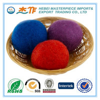 All Natural Wool Dryer Balls - 6-Pack XL Premium - Bonus Storage Bag Included - Replace Harmful Fabric Softeners and Dryer Sheet