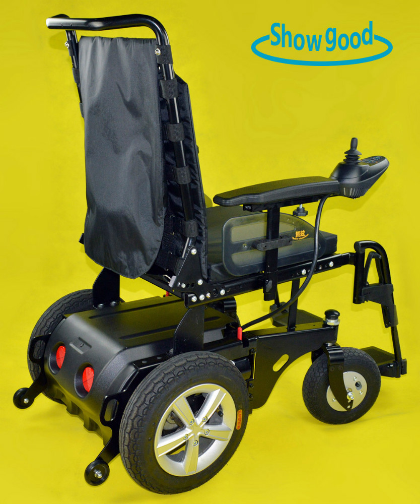 Showgood lightweight foldable electric wheelchair prices for Cost of motorized wheelchair