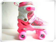 Wholesale Led Skate Roller Shoes Flying Kid Shoe Automatic Pulley Single Wheel for child