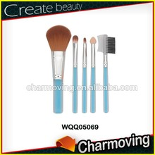 Charmoving Customized Logo 5pcs Makeup Set With Acrylic Handle