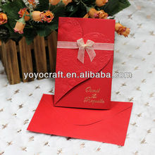 Cool!wedding favor Customized fancy wedding invitation card for wholesale and retail 3d wedding invitation card